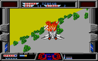 After Burner II Atari ST Let's shoot some trees