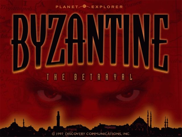Byzantine: The Betrayal Windows Title screen