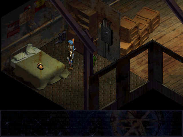 Septerra Core: Legacy of the Creator Windows The cursor changes automatically when placed upon an important object.