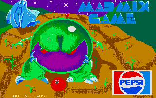 Mad Mix Atari ST Loading screen