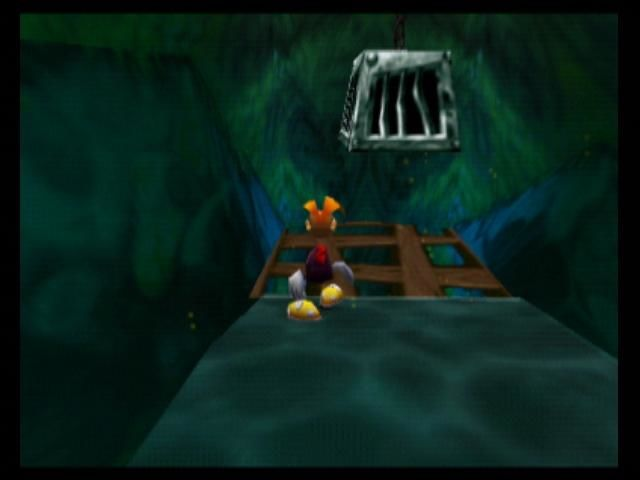 Rayman 2: The Great Escape Nintendo 64 Break open these cages to free