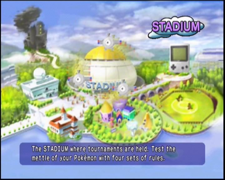 Pokémon Stadium Nintendo 64 Choose from Stadium, GB Emulation, Party games, Free Play, and more