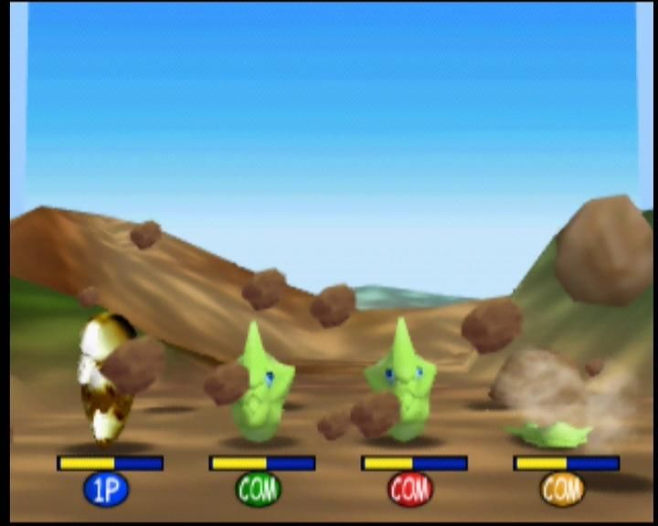 Pokémon Stadium Nintendo 64 Time your Harden attack correctly, or else you'll be squished!