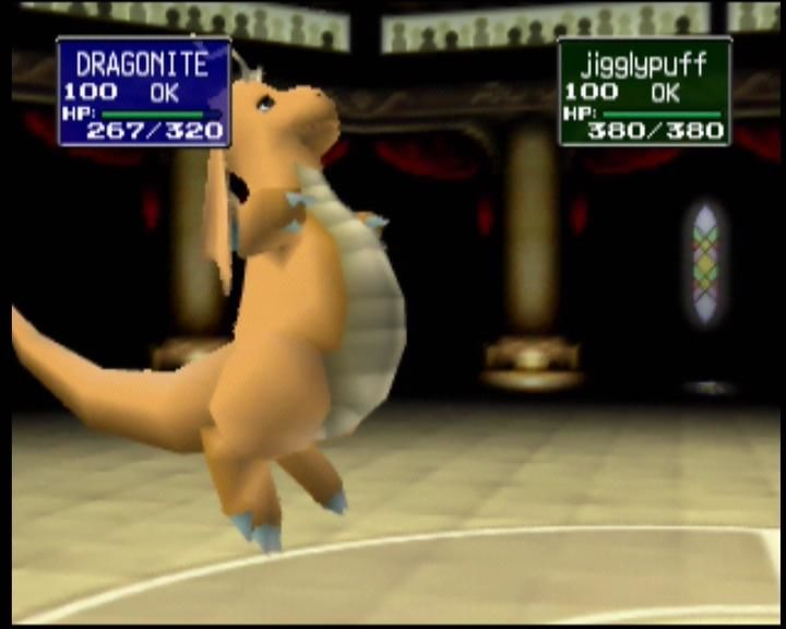 Pokémon Stadium Nintendo 64 Dragonite is ready for the next opponent