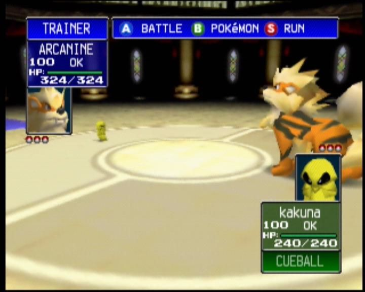 Pokémon Stadium Nintendo 64 Bit of a size difference with this match up!