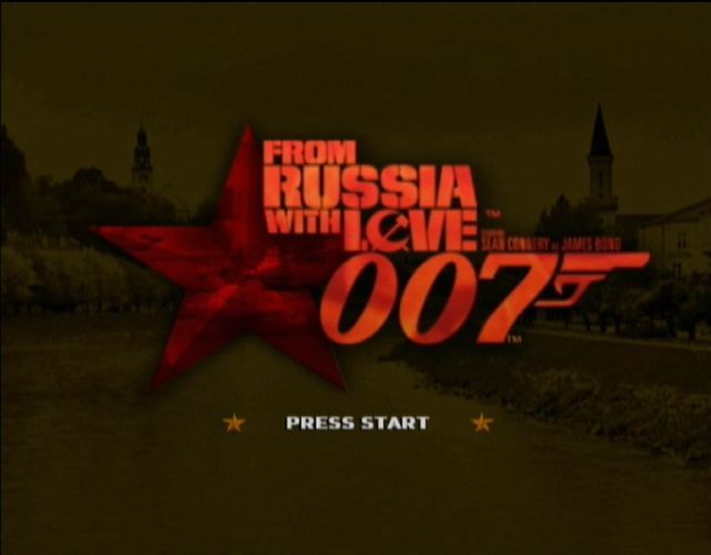 From Russia with Love Xbox Main Title