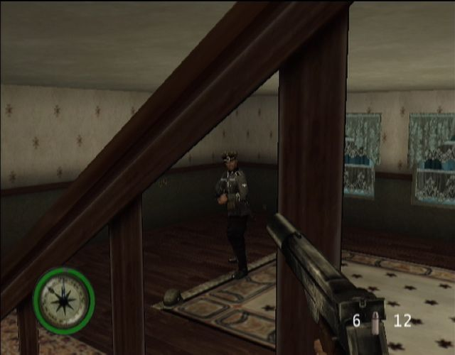Medal of Honor: Frontline Xbox Fighting in houses can get tricky at times!