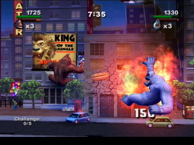 Rampage Total Destruction Screenshots For Playstation 2 Mobygames