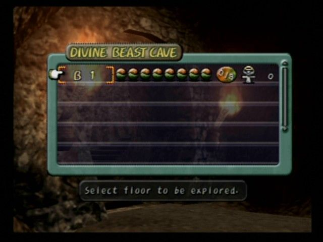 Dark Cloud PlayStation 2 When entering a dungeon, select the level of the dungeon to enter, as long as you've previously cleared that level of the dungeon.