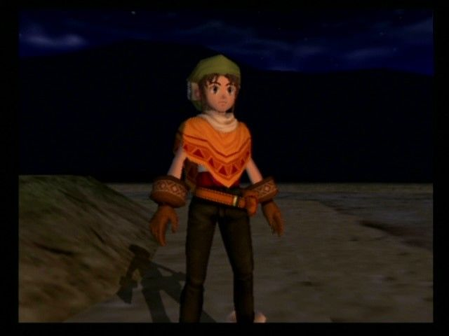 Dark Cloud PlayStation 2 New game movie: Meet Toan, the hero, who is enjoying a ceremony in his home village of Norune.
