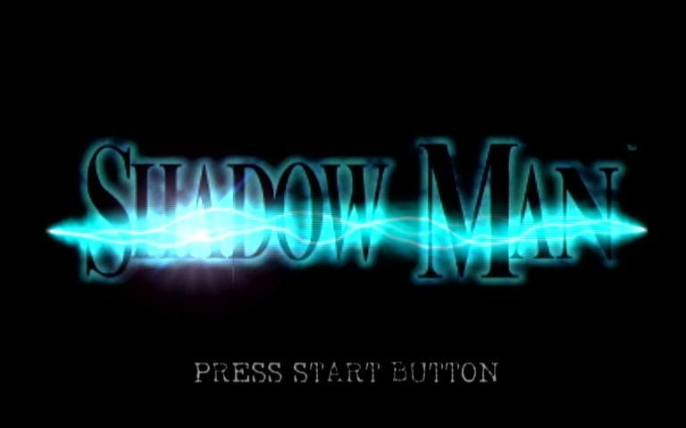 Shadow Man Dreamcast Title Screen