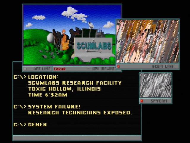 Rampage World Tour Nintendo 64 A brief introduction explains the monsters' origins