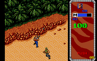 Mercs Atari ST Going to the jungle