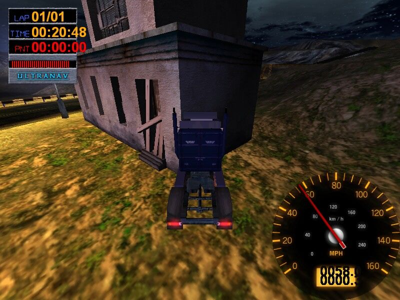 Big Rigs: Over the Road Racing Windows No collision detection