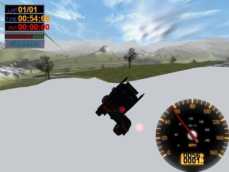 Big Rigs: Over the Road Racing Windows No map borders