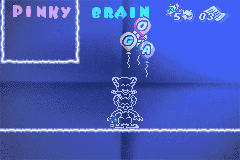 Pinky and The Brain: The Master Plan Game Boy Advance Completed level one!