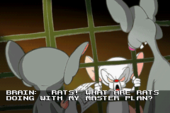 Pinky and the Brain: The Master Plan Game Boy Advance Intro: And they went and stole Brain's plans to use as their own!