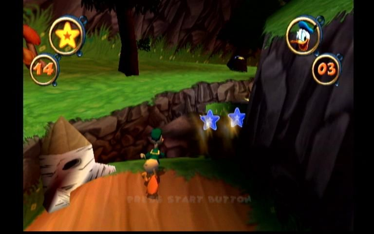 Disney's Donald Duck: Goin' Quackers Dreamcast Forest Level