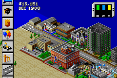 SimCity 2000 Game Boy Advance A new city