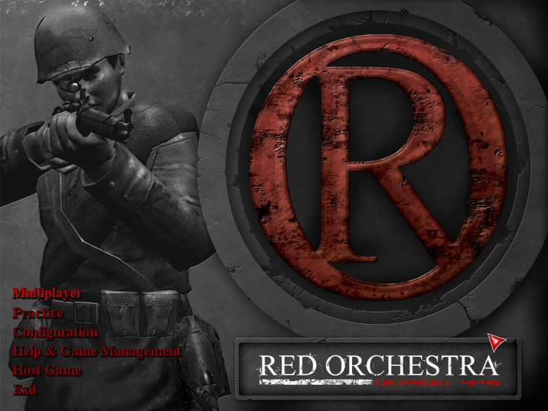 Red Orchestra: Ostfront 41-45 Windows Main menu