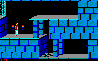 Prince of Persia Amstrad CPC First level