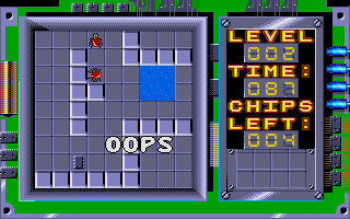 Chip's Challenge Atari ST Level 2 is though
