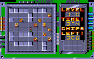 Chip's Challenge Atari ST The fire makes it less rigid