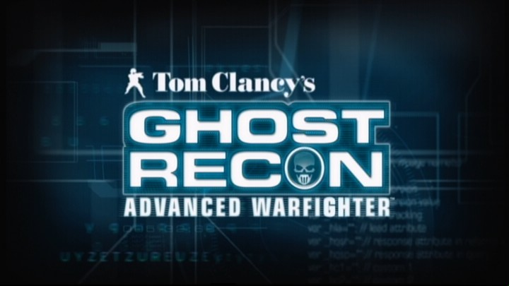Tom Clancy's Ghost Recon: Advanced Warfighter Xbox 360 Main title