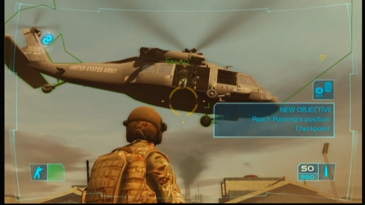 Tom Clancy's Ghost Recon: Advanced Warfighter Xbox 360 You're on your own now, soldier.