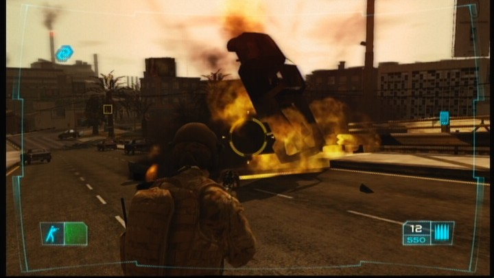 Tom Clancy's Ghost Recon: Advanced Warfighter Xbox 360 Once you realize how easy it is to blow up a vehicle, you'll stop using them as a cover.