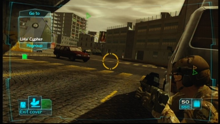 Tom Clancy's Ghost Recon: Advanced Warfighter Xbox 360 You can just as easily fire from the corner without leaving the cover if you have appropriate weapon with you.