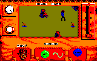 Indiana Jones and The Fate of Atlantis: The Action Game Amstrad CPC Level 2