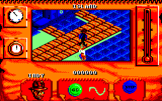 Indiana Jones and The Fate of Atlantis: The Action Game Amstrad CPC Level 5