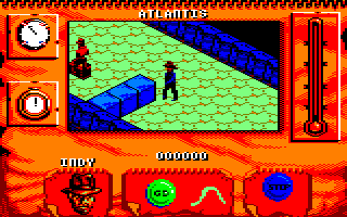 Indiana Jones and The Fate of Atlantis: The Action Game Amstrad CPC Level 6