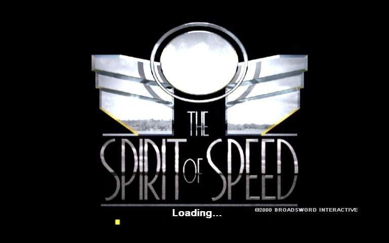 Spirit of Speed 1937 Dreamcast Title/Load Screen, expect to see this a lot