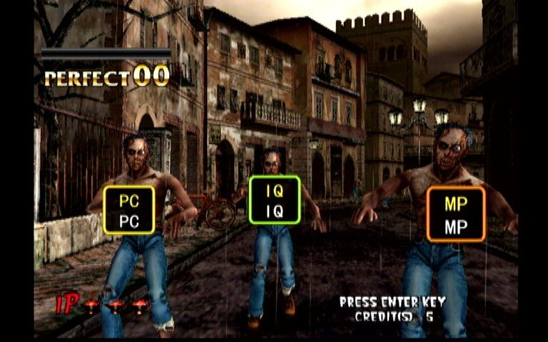 The Typing of the Dead Dreamcast Zombie Attack