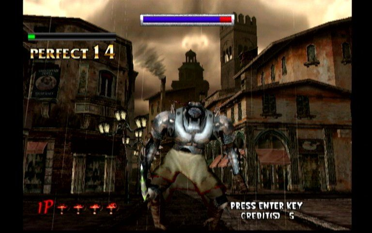 The Typing of the Dead Dreamcast Boss Battle