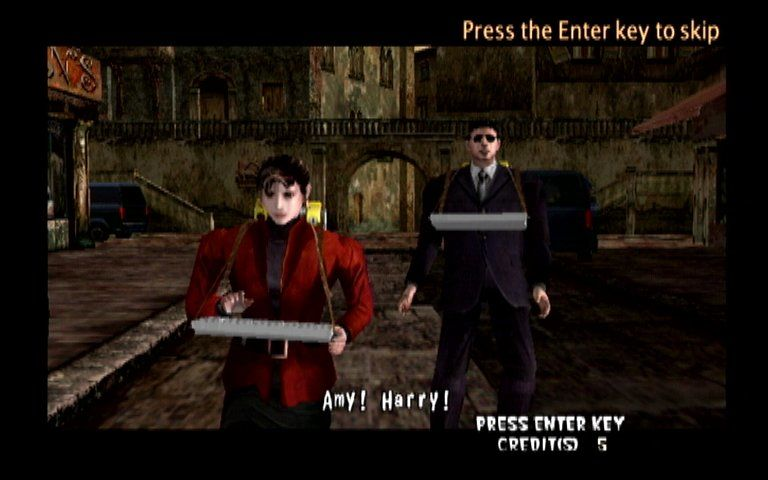 The Typing of the Dead Dreamcast Elite Special Agents