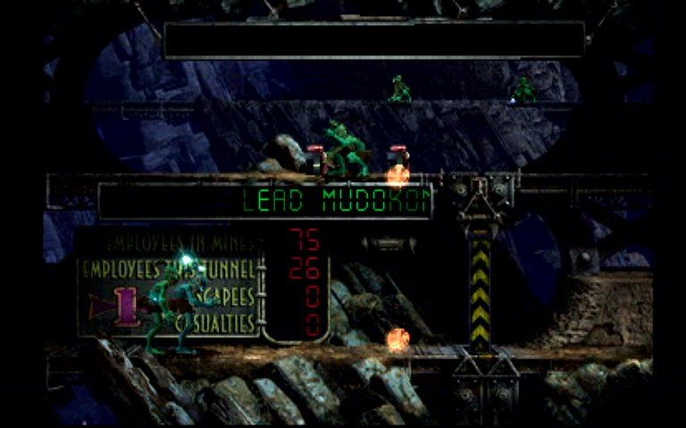 Oddworld: Abe's Exoddus PlayStation View the statistics and guide Mudokons to safety!..