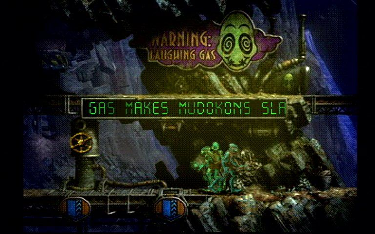 Oddworld: Abe's Exoddus PlayStation Laughing gas