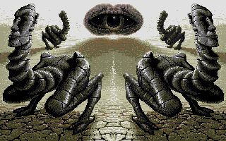Weird Dreams Atari ST Loading screen