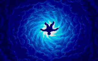 Weird Dreams Atari ST Hurtling into  dream world