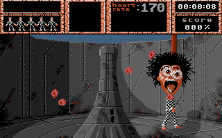 Weird Dreams Atari ST With gruesome results