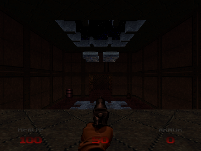 DOOM 64 Nintendo 64 The start of the game