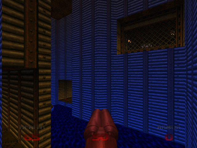 DOOM 64 Nintendo 64 Funky lighting effects
