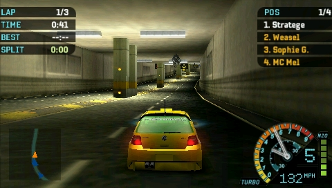 Need for Speed: Underground - Rivals Screenshots for PSP