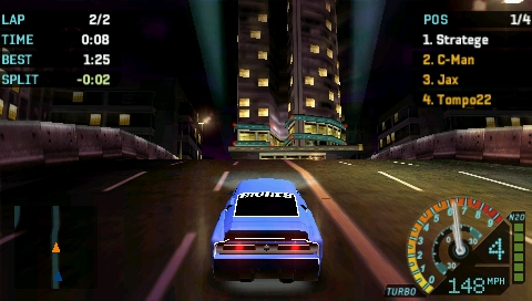 Need For Speed Underground Rivals Screenshots For Psp