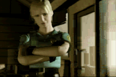 Silent Hill: Play Novel Game Boy Advance A shot from the opening FMV