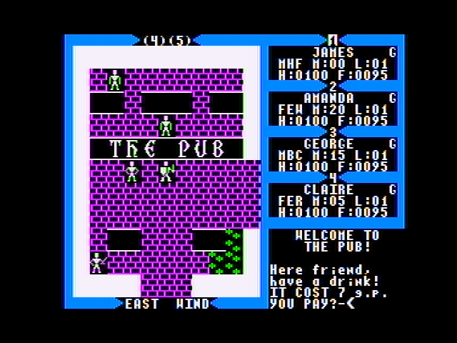 Exodus: Ultima III Apple II The Pub