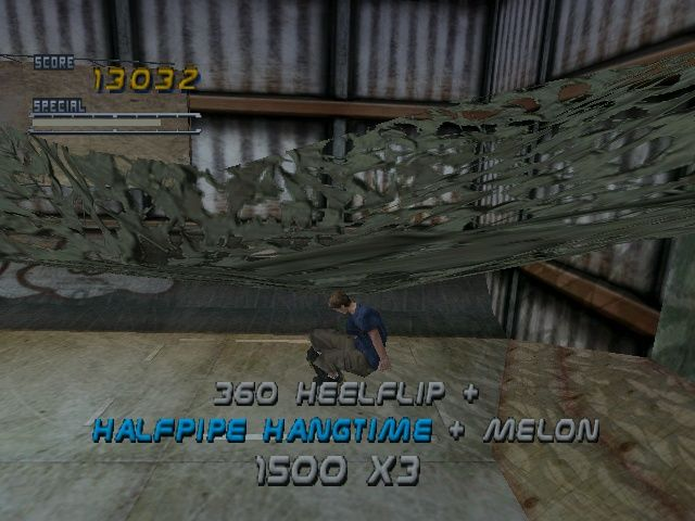 Tony Hawk's Pro Skater 2 Windows The hangar